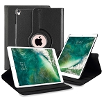 New iPad Air 2019/iPad Pro 10.5 Inch 360 Degree Rotating Leather Case Black