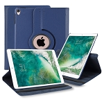 New iPad Air 2019/iPad Pro 10.5 Inch 360 Degree Rotating Leather Case Blue