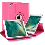 New iPad Air 2019/iPad Pro 10.5 Inch 360 Degree Rotating Leather Case Pink