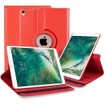New iPad Air 2019/iPad Pro 10.5 Inch 360 Degree Rotating Leather Case Red