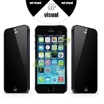 iPHONE 5 5S Premium Tempered Glass Screen Protector (Privacy)