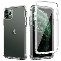 iPhone 11 Pro New DFS Defender Case With Screen Protector Clear