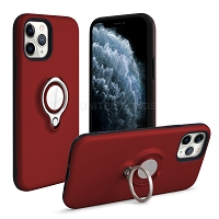 iPhone 11 Pro New Hybrid Case With Ring Red