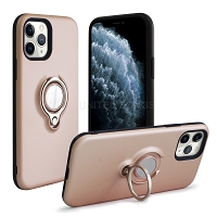 iPhone 11 Pro New Hybrid Case With Ring Rose Gold