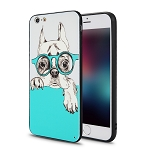 IPhone 6 Plus New Hybrid Design Case Dog/Glasses