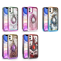 iPhone 12 Mini New LQRG Liquid Glitter Dual Color Case