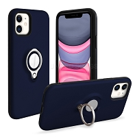 iPhone 11 New Hybrid Case With Ring Blue
