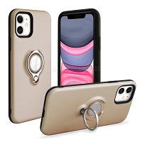 iPhone 11 New Hybrid Case With Ring Gold