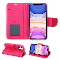 iPhone 11 Wallet Case Pink