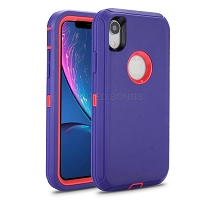 Samsung Galaxy A20/A30/A50 New Heavy Duty Defender Case Purple/Pink