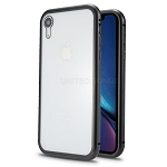 iPhone 8/7 New Deluxe Magnetic Hybrid Transparent Case Black