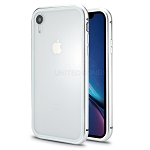 iPhone 8/7 New Deluxe Magnetic Hybrid Transparent Case Silver