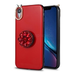 iPhone XR New Pop Holder Stylish Case Red
