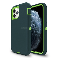 iPhone 11 Pro Max New Heavy Duty Defender Case Teal/Green