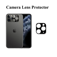 iPhone 11 High Quality Camera Lens Protector Black
