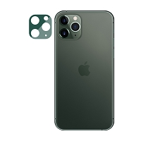 iPhone 11 Pro Max/11 Pro New Fully Protective Lens Tempered Glass Green
