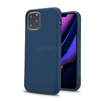 iPhone 11 Pro Max New TPS Simple Stylish Protective Case Blue