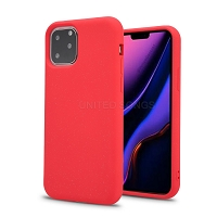 iPhone 11 Pro Max New TPS Simple Stylish Protective Case Red