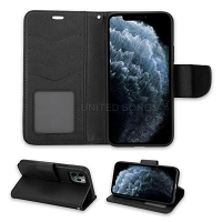 iPhone 11 Pro Max Wallet Case Black