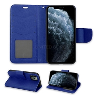 iPhone 11 Pro Max Wallet Case Blue