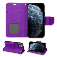 iPhone 11 Pro Max Wallet Case Purple