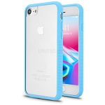 iPhone 8/7/6 New Hybrid Transparent Case Blue