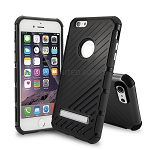 iPhone 6S Plus/6 Plus New Hybrid Case With Kickstand Black