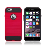 iPhone 6S Plus/6 Plus Hybrid Case Red