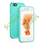iPhone 6S Plus/6 Plus Waterproof Case Green/White