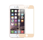 IPhone 6S/6 Full Size Tempered Glass Screen Protector Gold