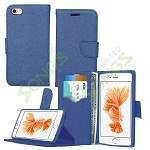 iPhone 6S/6 Wallet Case Blue
