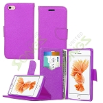 iPhone 6S/6 Wallet Case Purple