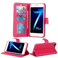 iPhone 8 Plus/7 Plus/6 Plus Wallet Case Pink