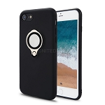 iPhone 8/7 New Hybrid Case With Ring Black