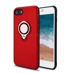 iPhone 8/7 New Hybrid Case With Ring Red