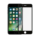 iPhone 8/7 Full Size Tempered Glass Screen Protector Black