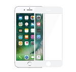 iPhone 8/7 Full Size Tempered Glass Screen Protector White