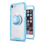 iPhone 7/8 New Tech Hybrid Case With Liquid Pop Holder Blue