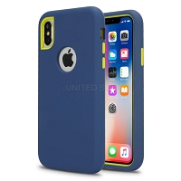 iPhone 11 Pro New Triple Layer Hybrid Protective Case Blue/Green