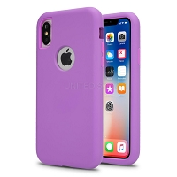iPhone 11 Pro New Triple Layer Hybrid Protective Case Purple/Purple