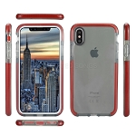 iPhone XS/X New Impact Protective Case Gray/Red