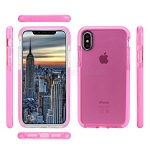 iPhone XS/X New Impact Protective Case Pink/Pink