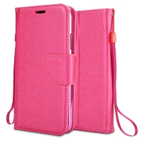 Samsung Galaxy A10s Wallet Case Pink