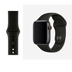 iWatch 38mm to 40mm Wrist Band Black