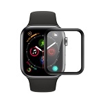 iWatch 40mm Premium Full Size Tempered Glass Screen Protector Black