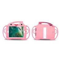 iPad 2017/Pro 9.7/Air/Air 2 New EVF Protective Case With Handle & Stand Pink