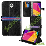 Blu Studio 7.0 D700i Wallet Case Black