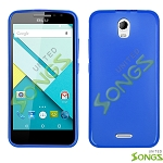 BLU Studio C D830U TPU(Gel) Case Blue