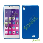 BLU Vivo Air D980L TPU(Gel) Case Blue