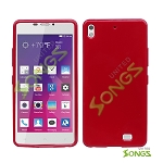 BLU Vivo Air D980L TPU(Gel) Case Red